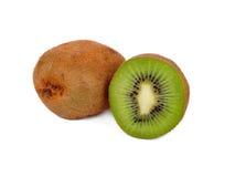 De vruchten van de kiwi die op wit worden geïsoleerde Royalty-vrije Stock Foto's