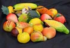 De vruchten van de marsepein stock foto's