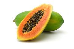 De vruchten van de papaja