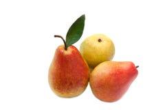 De vruchten van de peer Stock Foto's