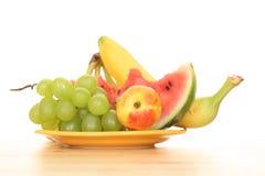 De vruchten van de zomer Stock Afbeelding