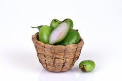 De vruchten van Garciniaschomburgkiana Royalty-vrije Stock Afbeeldingen