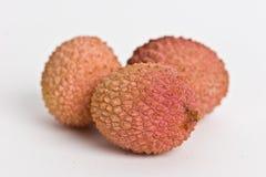 De vruchten van het litchi Royalty-vrije Stock Foto's