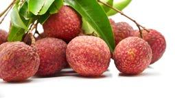 De vruchten van het litchi Royalty-vrije Stock Afbeelding