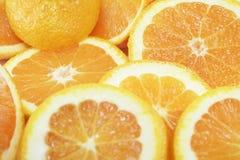 De vruchten van het sap Stock Afbeeldingen