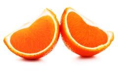 De vruchten van mandarijnen Royalty-vrije Stock Foto