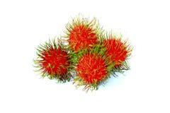 De vruchten van Rambutan Royalty-vrije Stock Fotografie