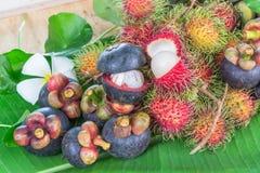 De Vruchten van Thailand Stock Foto's