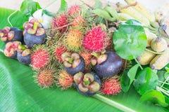 De Vruchten van Thailand Royalty-vrije Stock Afbeeldingen