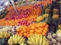De vruchten verkopen binnen Sri Lanka Royalty-vrije Stock Foto's