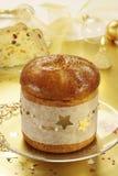 De vruchtencake van Kerstmis stock fotografie