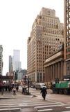 De vue 6ème avenue vers le bas Images libres de droits