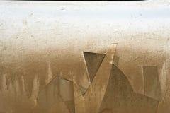 De vuil Bevlekte Deur van de Metaalauto Royalty-vrije Stock Fotografie