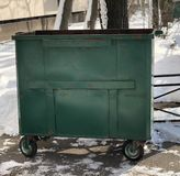De vuilnisbak stock foto's