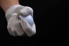 De vuistpomp van golfspelers Stock Fotografie