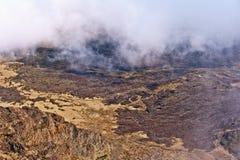 De Vulkaan en Krater Maui Hawaï van Haleakala Royalty-vrije Stock Afbeeldingen