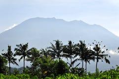 De vulkaan van Agung Stock Foto