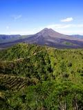 De vulkaan van Bali stock afbeelding