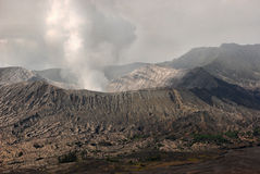 De vulkaan van Bromo. Stock Foto