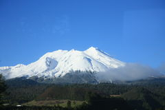 De Vulkaan van Chabulco, Chili Stock Fotografie