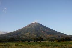 De vulkaan van Chinchontepec stock foto's