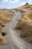 De vulkaan van de modder royalty-vrije stock afbeelding