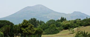 De vulkaan van de Vesuvius Stock Foto