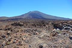De vulkaan van Gr Teide. Stock Foto's