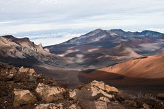 De vulkaan van Haleakala Royalty-vrije Stock Afbeelding