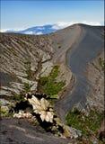 De Vulkaan van Irazu. Stock Foto