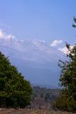 De vulkaan van Iztaccihuatl stock foto