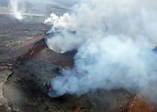 De Vulkaan van Kilauea Stock Foto's