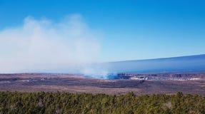 De vulkaan van Kilauea Stock Foto