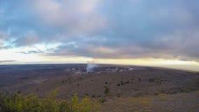 De vulkaan van Kilauea stock video