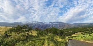 De vulkaan van MT Haleakala, Maui, Hawaï Stock Fotografie
