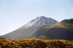 De Vulkaan van Ngauruhoe, Nieuw Zeeland Stock Foto's