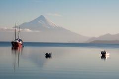 De vulkaan van Osorno Royalty-vrije Stock Afbeeldingen