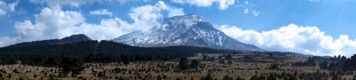 De Vulkaan van Popocatepetl Stock Foto's