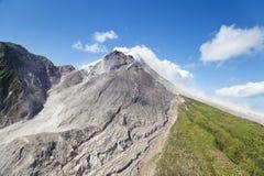 De Vulkaan van Soufriereheuvels, Montserrat stock fotografie