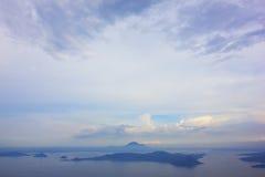 De vulkaan van Taal, Tagaytay Royalty-vrije Stock Foto's