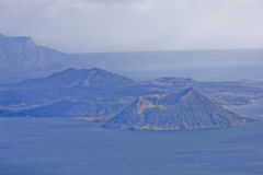 De vulkaan van Taal, Tagaytay Royalty-vrije Stock Foto