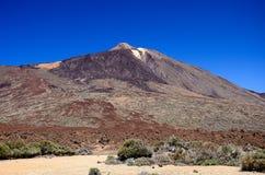 De vulkaan van Teide Royalty-vrije Stock Afbeelding