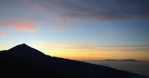 De vulkaan van Teide Royalty-vrije Stock Foto