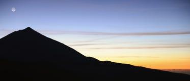 De vulkaan van Teide Stock Fotografie