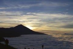 De vulkaan van Teide Stock Afbeelding
