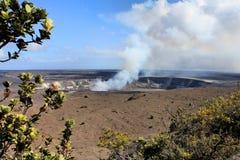 De vulkaan van Hawaï Stock Afbeelding
