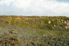 De Vulkanen Nationaal Park van Hawaï op Groot Eiland Royalty-vrije Stock Afbeeldingen