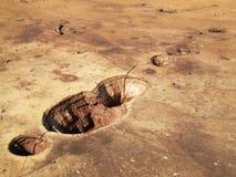 De vulkanen van de modder Royalty-vrije Stock Fotografie