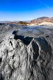 De Vulkanen van de modder in Berca, Roemenië Royalty-vrije Stock Afbeelding