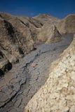 De Vulkanen van de modder in Buzau, Roemenië Stock Fotografie